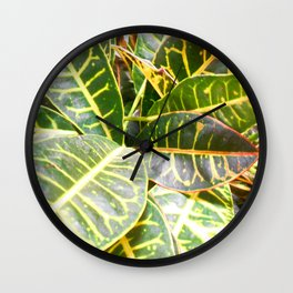 """Planted"" Wall Clock"