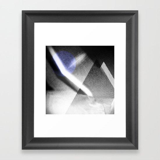 MOONLIGHT_B&W Framed Art Print