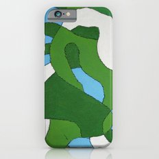 Green Map Slim Case iPhone 6s