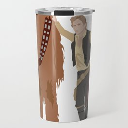Han Solo and Chewbacca Travel Mug