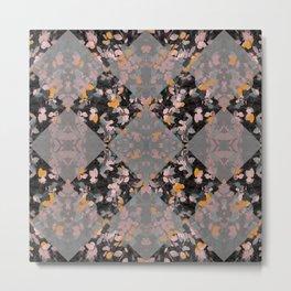 Tiles of leaves Metal Print