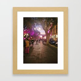 Parque Juarez Framed Art Print