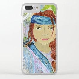 Warrior Rebecca Clear iPhone Case