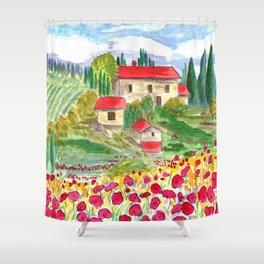 Tuscan Shower Curtain