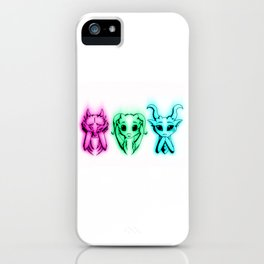See, Hear, Speak iPhone Case