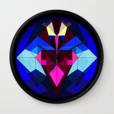 No Time for Space Wall Clock