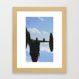 Tree Pool  Framed Art Print