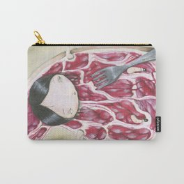 UNDERCOOKED STEAK Carry-All Pouch