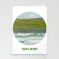 ireland Stationery Cards featuring Ireland by Dustin Hall