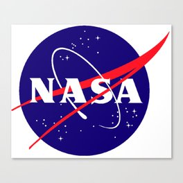 "The Official NASA ""Meatball"" Logo (and licensed!) Canvas Print"