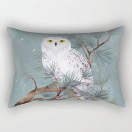 Snowy Rectangular Pillow
