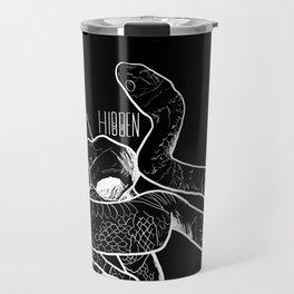 Snake and bird, true love. Travel Mug