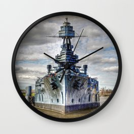 USS Texas Wall Clock