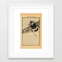 pride and prejudice Framed Art Prints featuring Pride & Prejudice, Page 51 by Rebecca Loomis