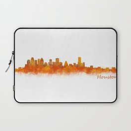 Houston City Skyline Hq v2 Laptop Sleeve