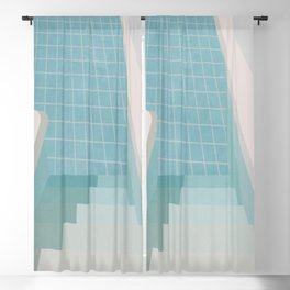 Swimming Pool Summer Blackout Curtain
