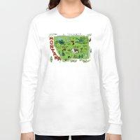 montana Long Sleeve T-shirts featuring MONTANA by Christiane Engel