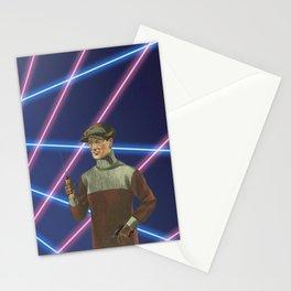 Time Traveling Mobster  Stationery Cards