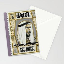 Sheikh Zayed - UAE Old Stamp Stationery Cards