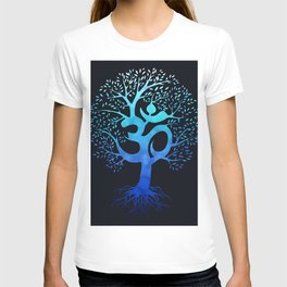 Tree Of Life with Om Symbol T-shirt