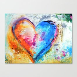 The Patience of Love Canvas Print