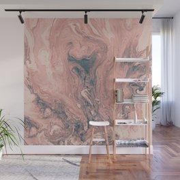 Maui Swirl in Pink Wall Mural