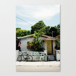 A Home In Key West. Canvas Print