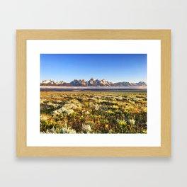 American Cloud Piercers Framed Art Print