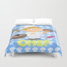 Chef Duvet Cover