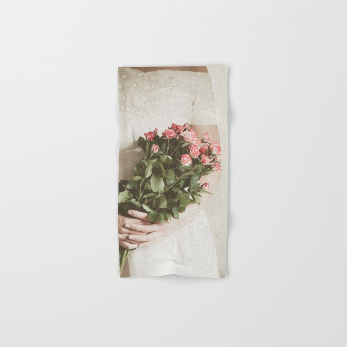 Bouquet Of Roses Hand & Bath Towel