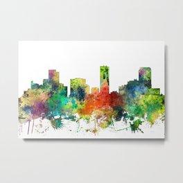 Denver, Colorado Skyline SP Metal Print