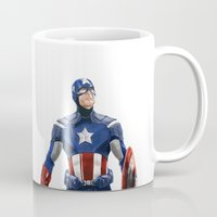 captain Mugs featuring Captain by Carrillo Art Studio