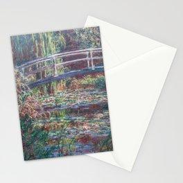 Claude Monet - Le Bassin aux nymphéas, Harmonie rose.jpg Stationery Cards