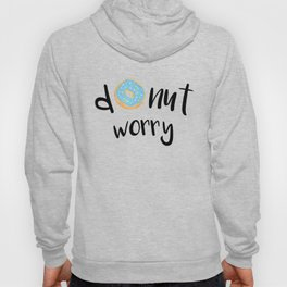 Donut Worry Blue Hoody