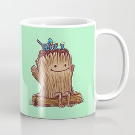 Good Day Log's Bird Nest Coffee Mug