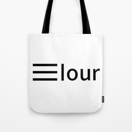 Elour logo black Tote Bag