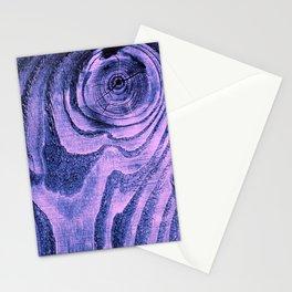 Purple Haze Melodic, Lyrical Pattern Stationery Cards