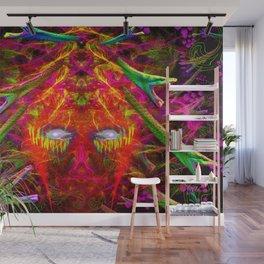 Medusa's Rage Wall Mural