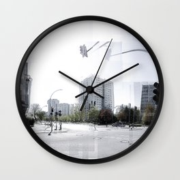 Berlin Lichtenberg II Wall Clock