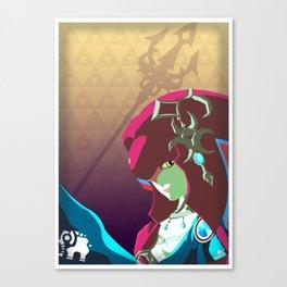 Zora Healer - Legend of Zelda Canvas Print