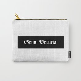 Gens Veturia White Carry-All Pouch