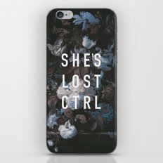She's Lost Control iPhone Skin