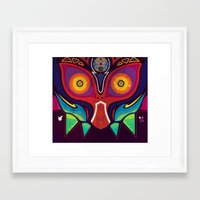 majora Framed Art Prints featuring Majora by Tommy Price