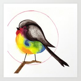 PaintyBird Art Print