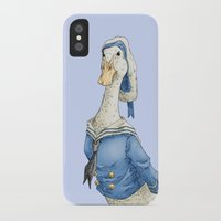 donald duck iPhone & iPod Cases featuring Real Life Donald Duck by onez