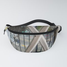 Checkerboard Sidewalk Fanny Pack