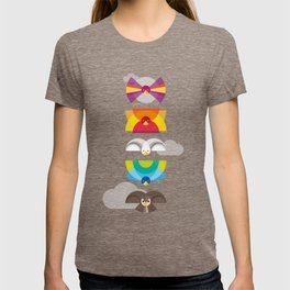 Day Birds Totem T-shirt