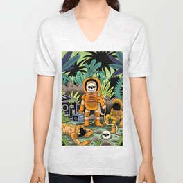 Lost contact Unisex V-Neck