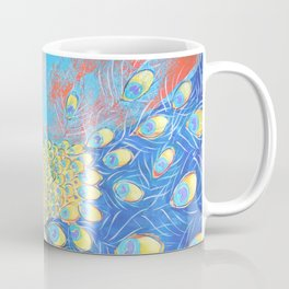 Peacock: Grace Under Fire Coffee Mug