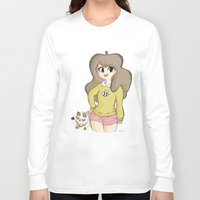 bee and puppycat Long Sleeve T-shirts featuring Bee and Puppycat by Lyndie Witt